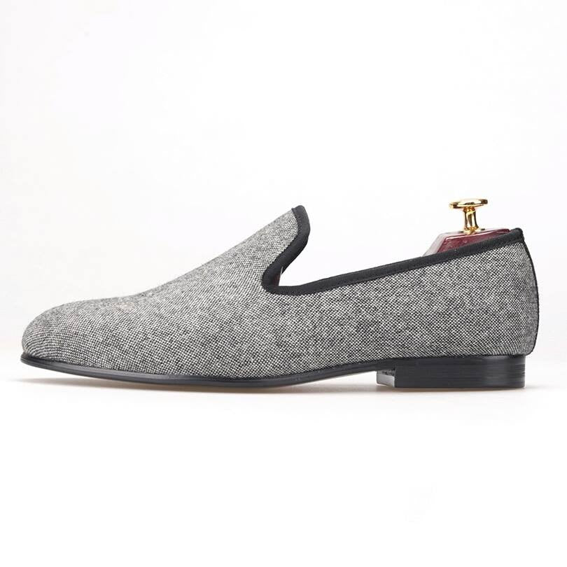 Business Gray Loafer - Slim  - 2