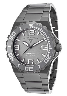 Expedition Gunmetal Stainless Steel - Slim