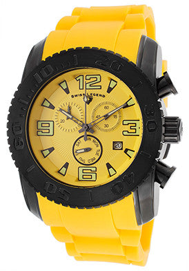 Commander Chrono Yellow Silicone - Slim