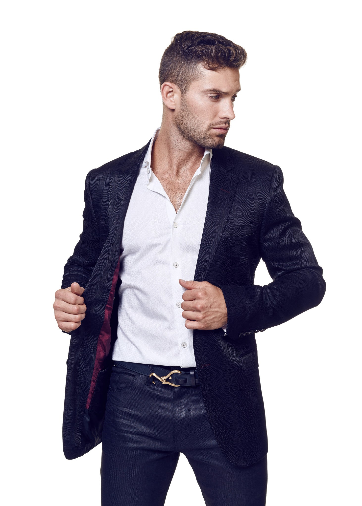 Blazer Socrate 2 Black Wave Square - Slim  - 3