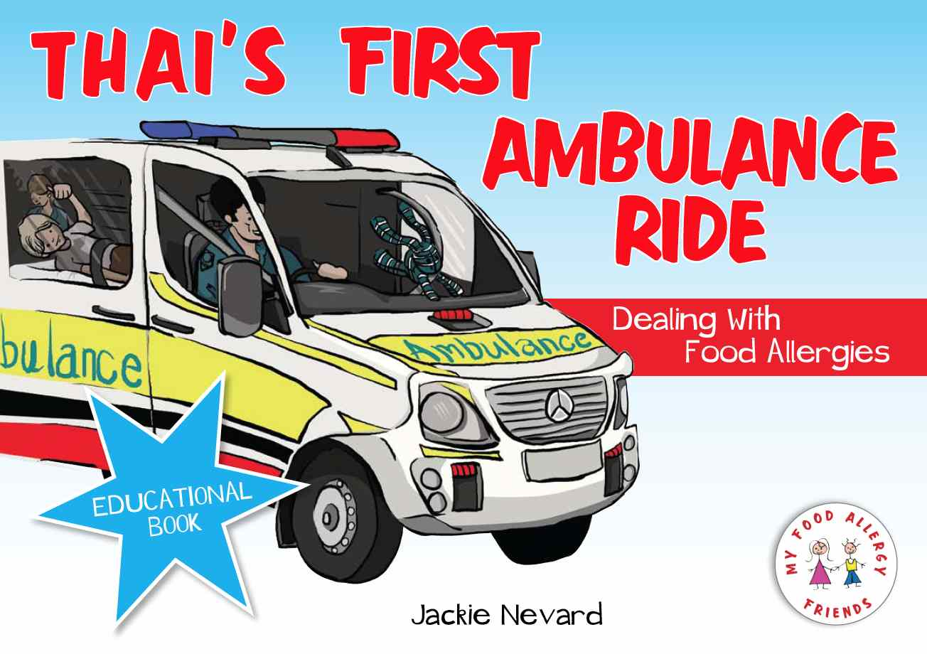 Children Book - Thai's First Ambulance Ride