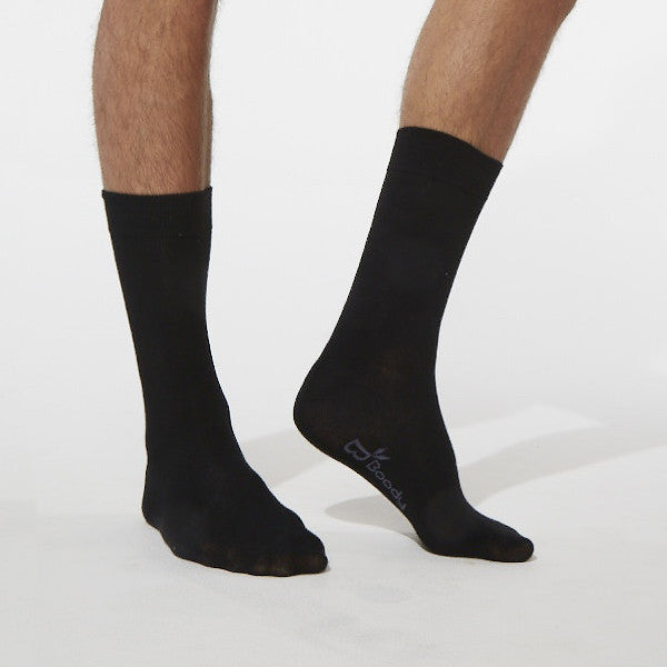 Boody Basic - Mens Black Business Socks