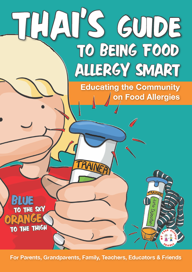 Children Book - Thai's Guide to being Food Allergy Smart