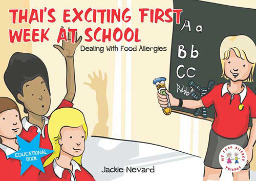 Children Book - Thai's Exciting First Week at School