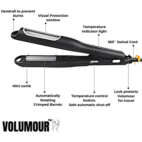 Volumour specifications and features