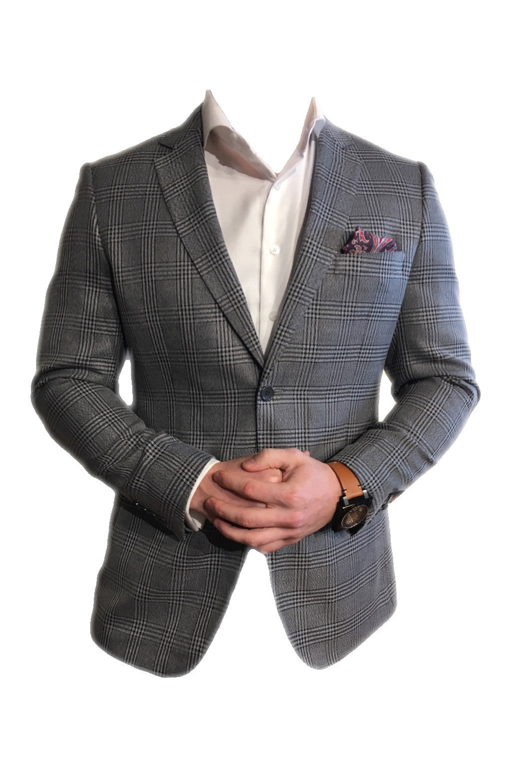 Grey/Black Sport Coat