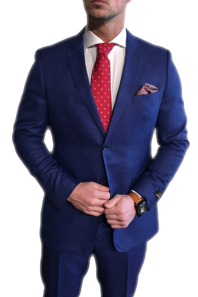 Indigo Blue Suit
