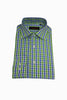 Green/Blue Check Shirt