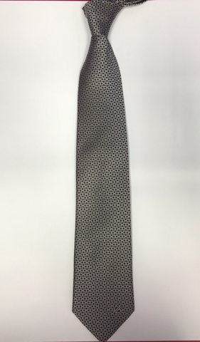Black/Silver Links Tie