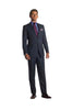 Navy/Black Stripe Suit