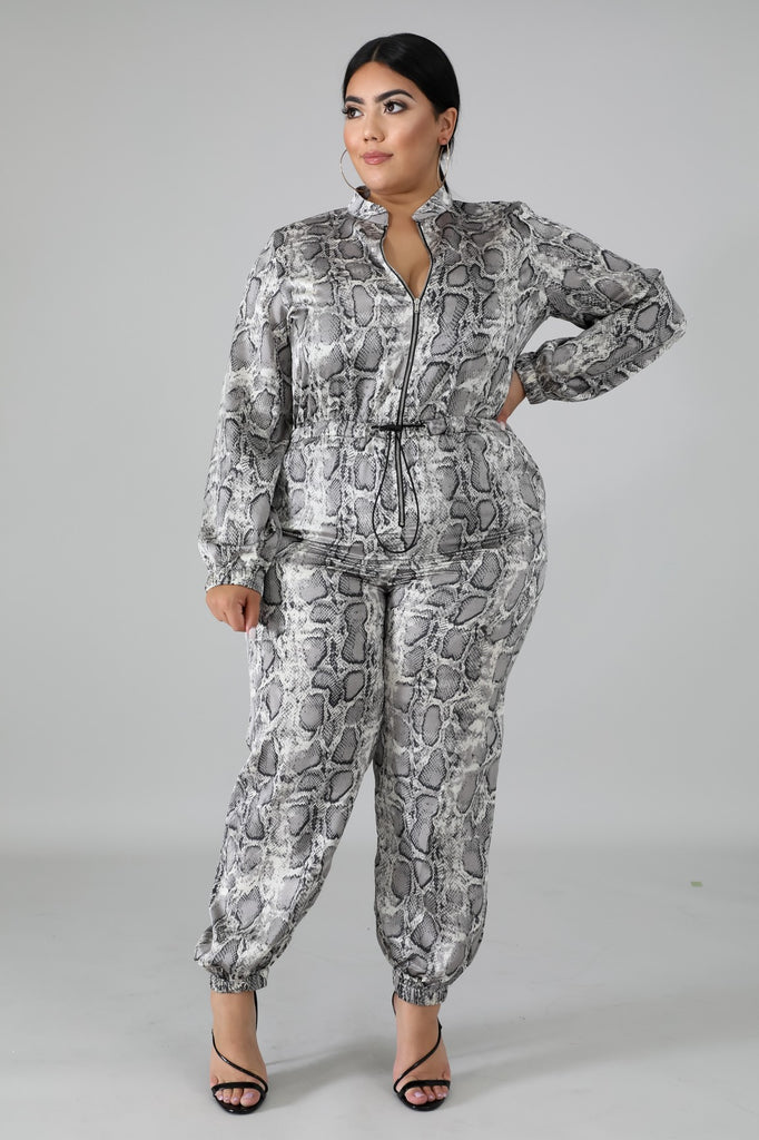 Dubai Jumpsuit- Plus Size