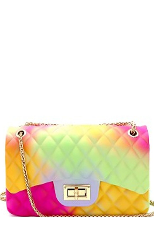 Mini Tie Dye Flap Bag