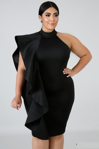 Brew Dress- Plus Size