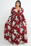 Fall Bloom Dress- Plus Size