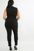 Curves Ahead Jumpsuit- Plus Size