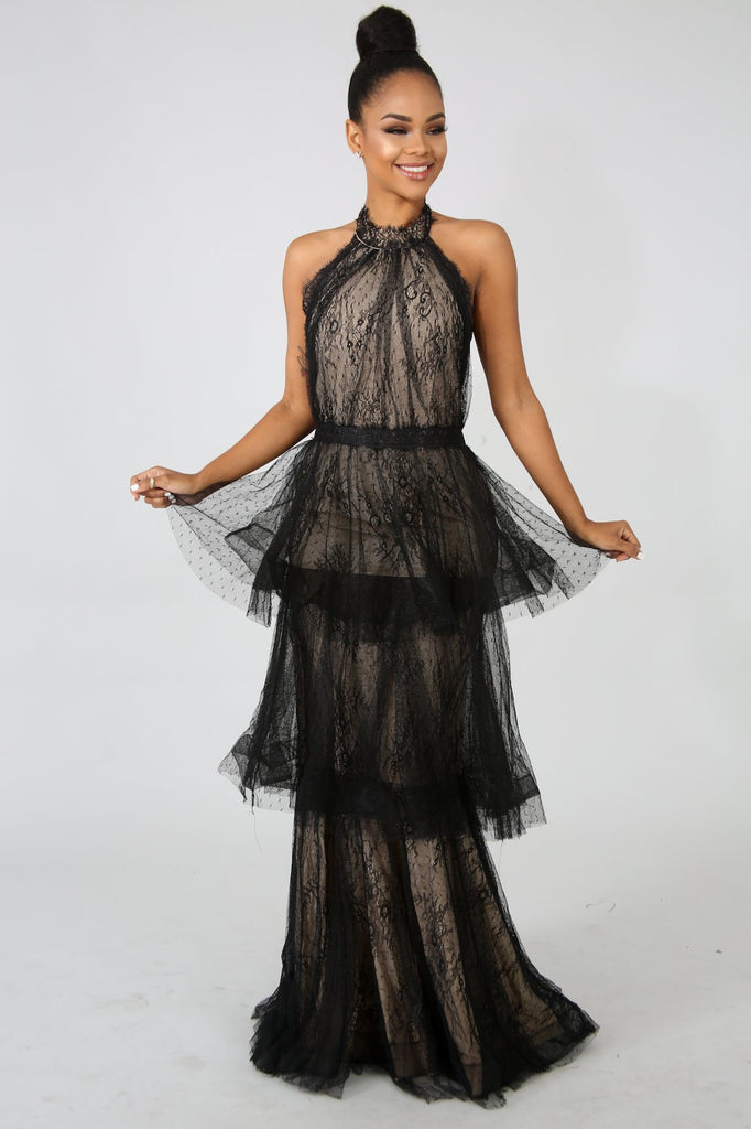 Lace Love Maxi Dress