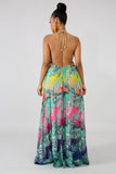 Tropical Ombre Dress
