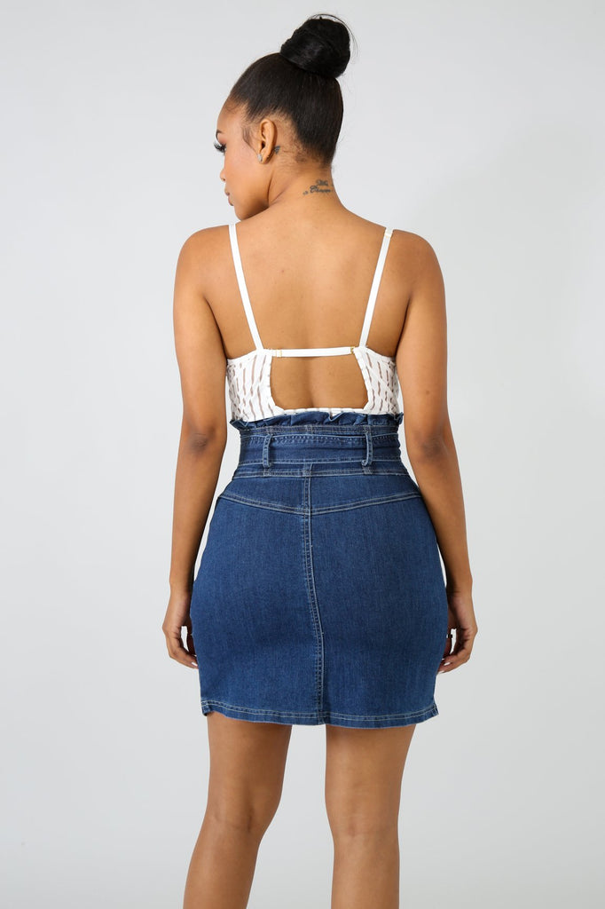 Cutie Denim Skirt