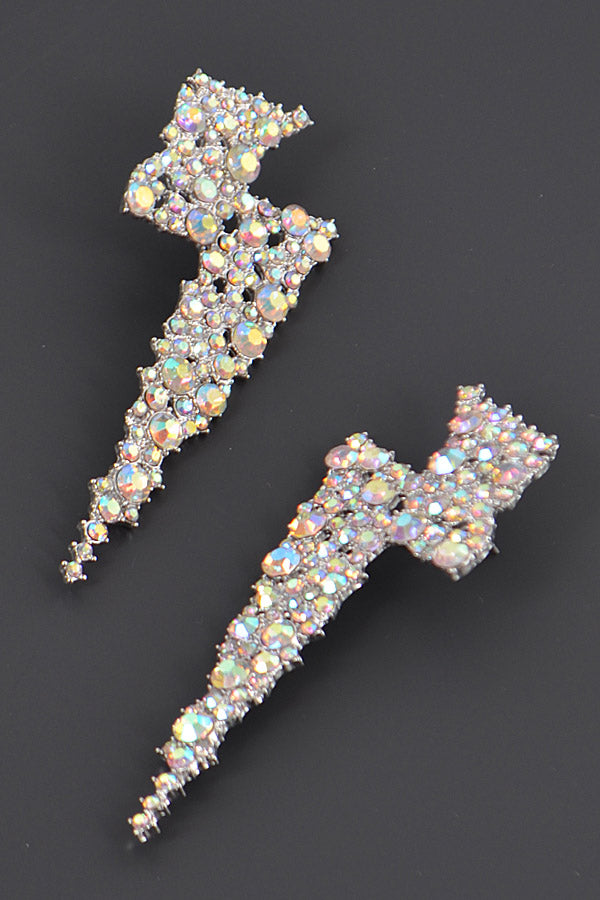 Thunder Rhinestone Earrings