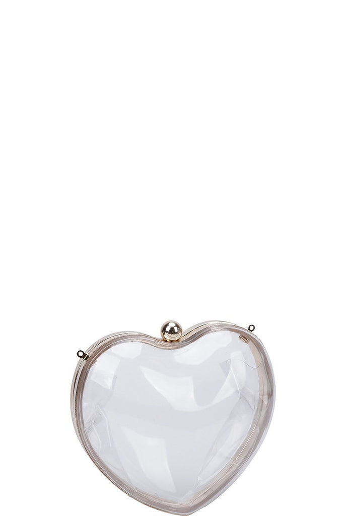 Clear Heart Clutch