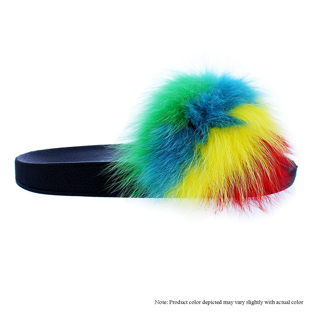 Fanzzy Multi Fur Slides