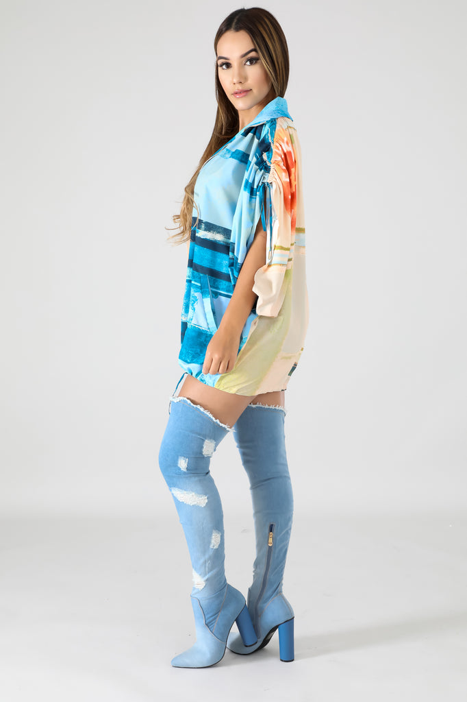 Surfer Shirtdress