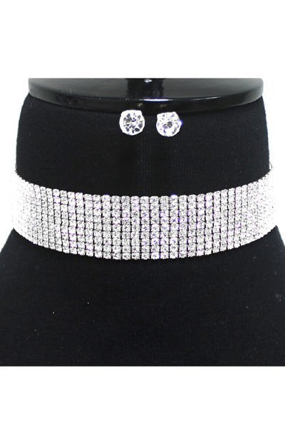 Crystal Choker Set