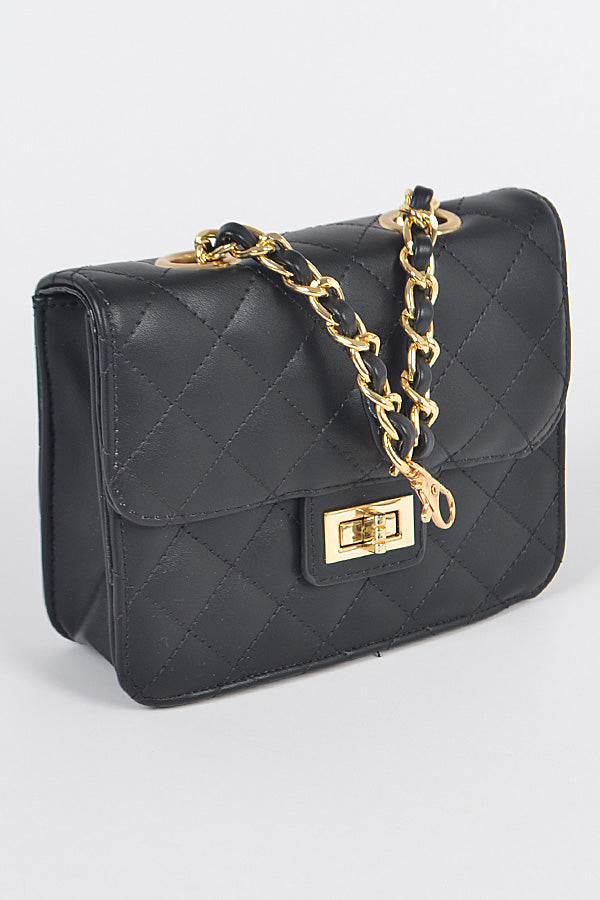 Quilted Mini Chain Bag