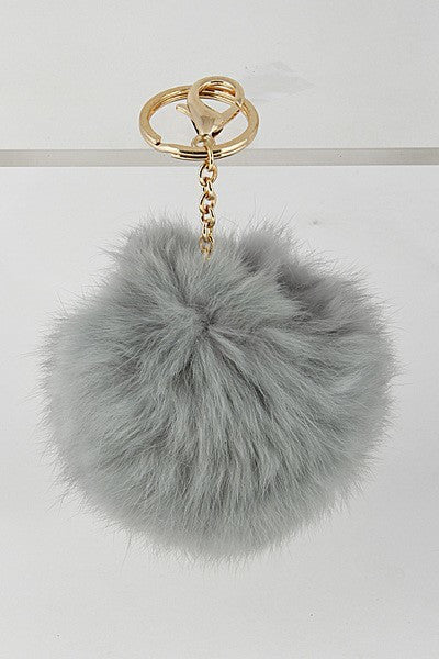 Fur Ball Keychain
