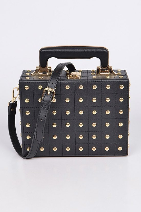 Box Stud Purse