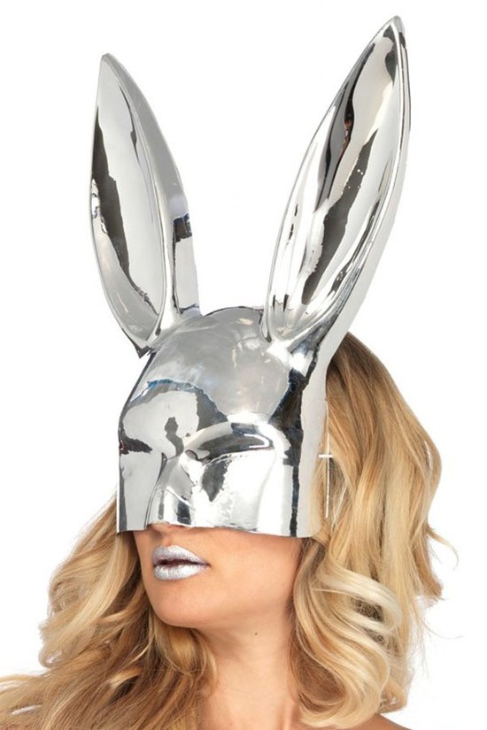 Chrome Bunny Mask
