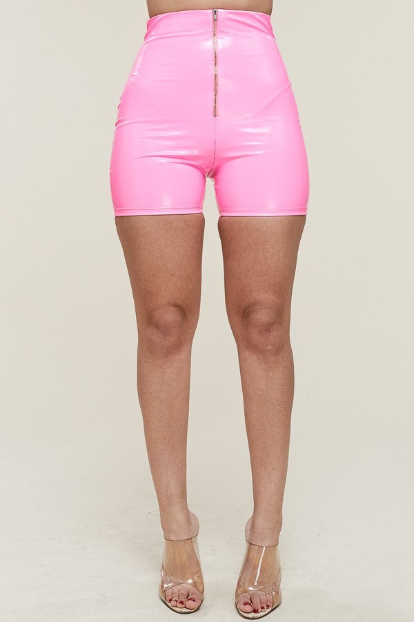 Liquid Zip Shorts