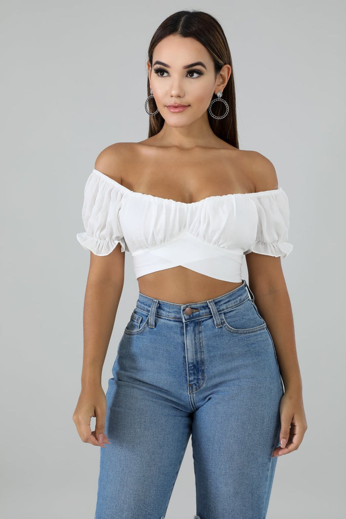Cross Wrap Top