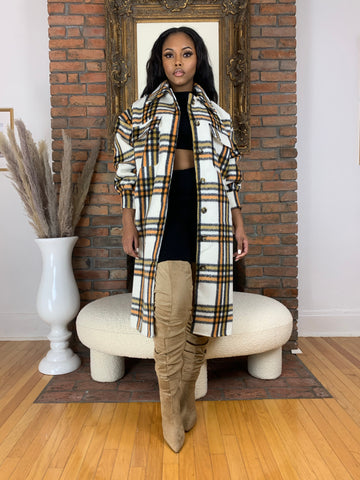 Fall Shag Coat