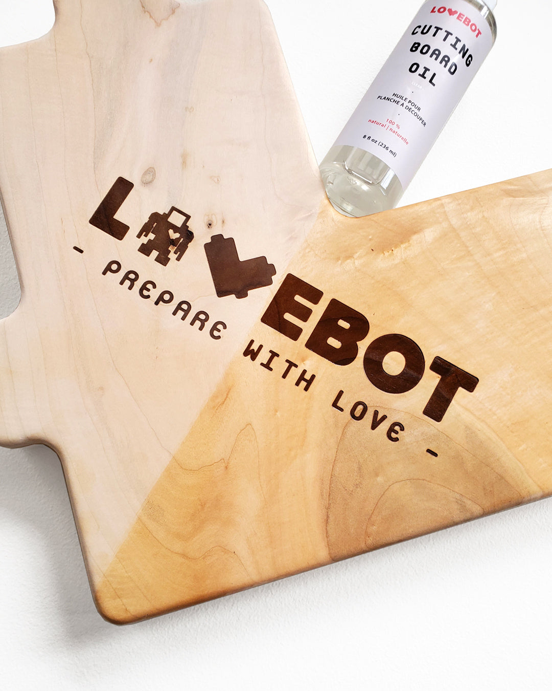 Lovebot S Cutting Board Oil Lovebot