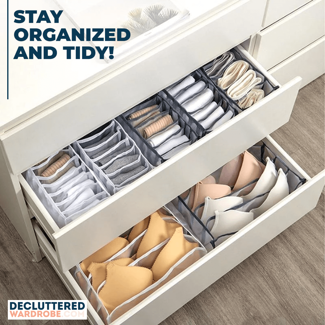 Stay organized and tidy!