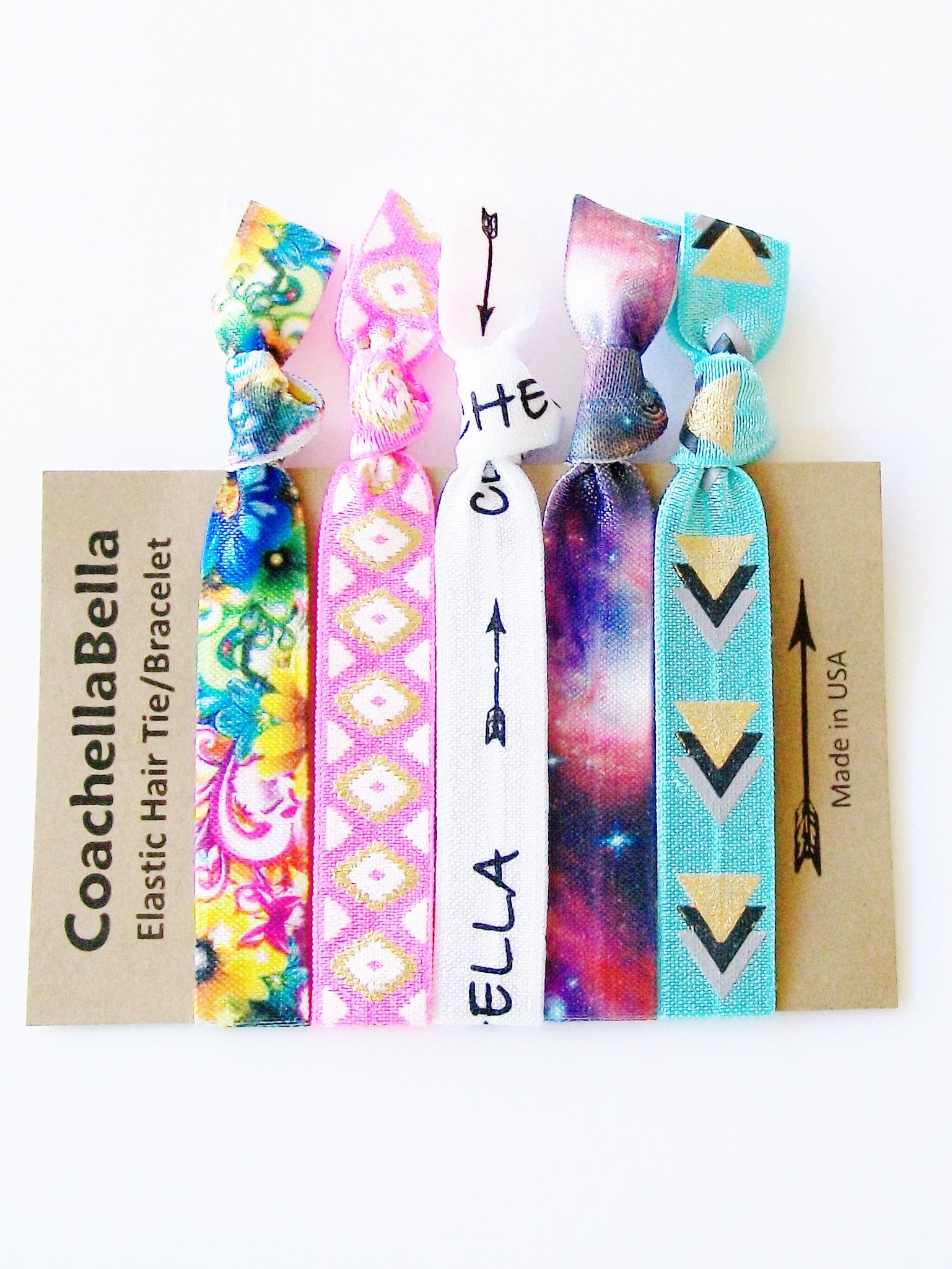 Coachella Hair Tie Gift Set