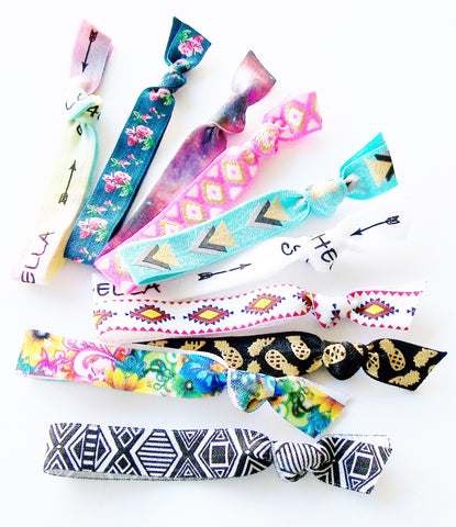 Hair Ties, Set of 10