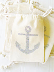 Anchor Tote & Party Favor Bags by Lucky Girl