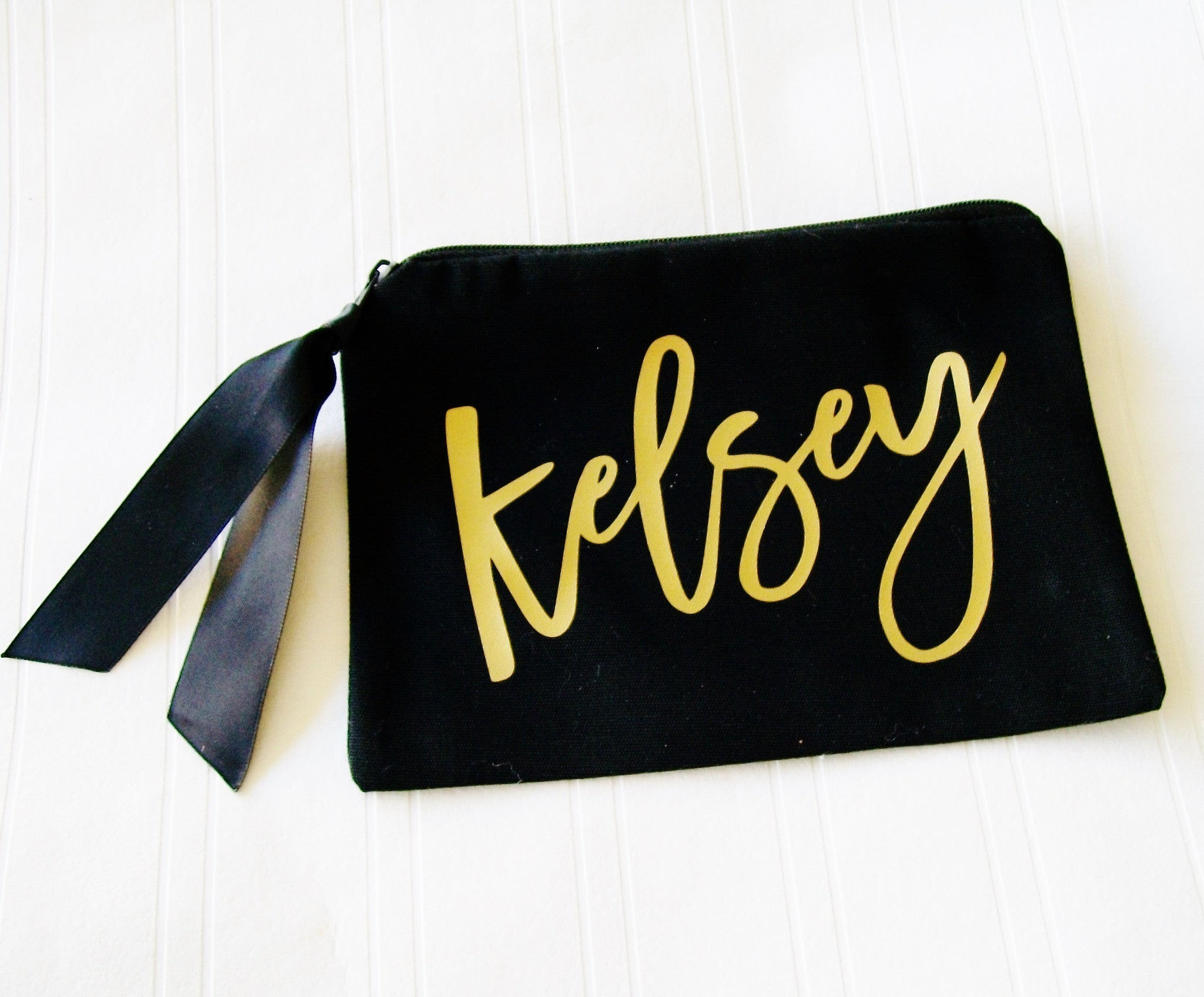 MakeUp Bag, Personalized Make Up bag, custom Cosmetic case, fabric makeup bag