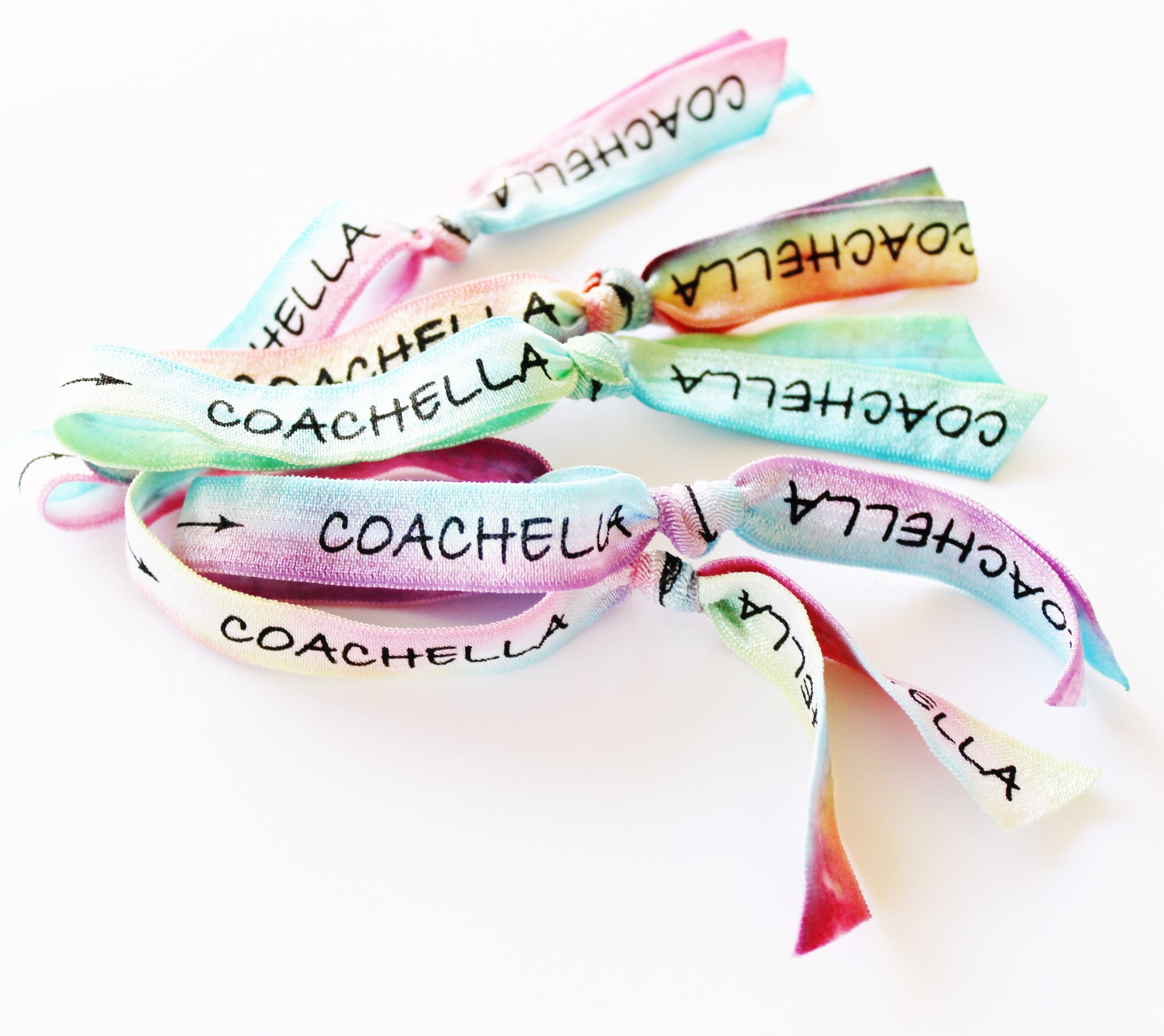 Coachella Headband & Coachella Hair Ties