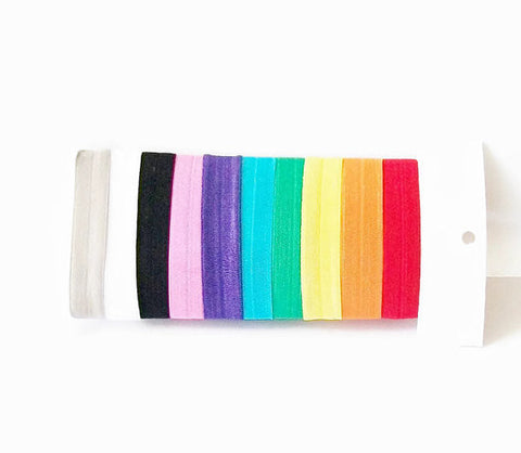 Hair Ties, Basics Set of 10