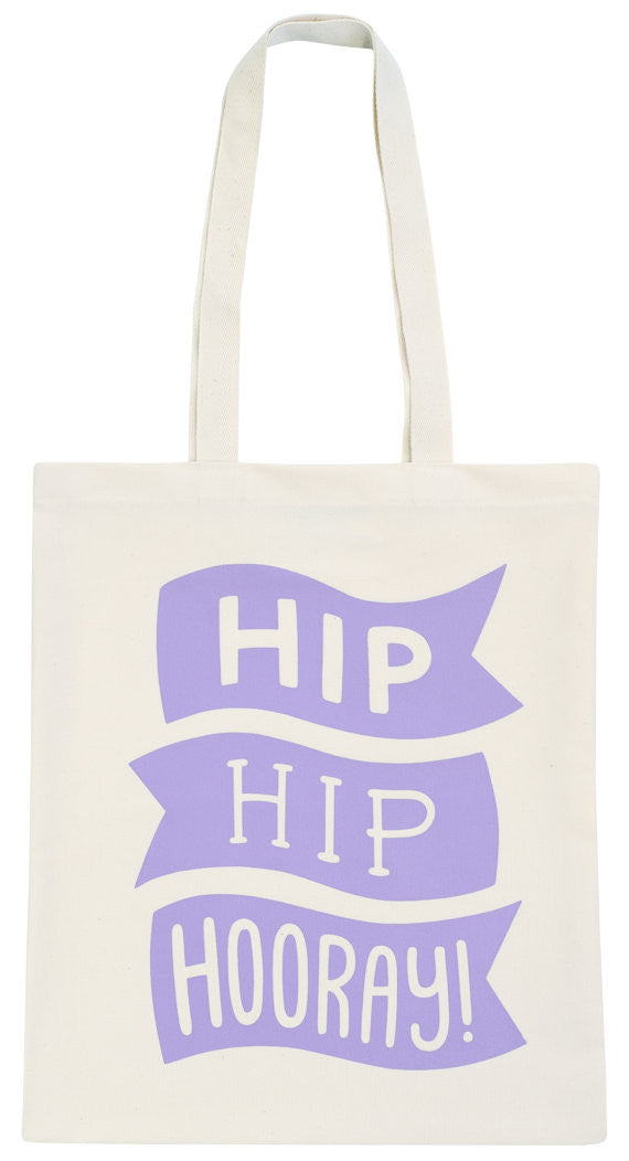 Hip Hip Hooray!  Tote & Party Favor Bags by Lucky Girl