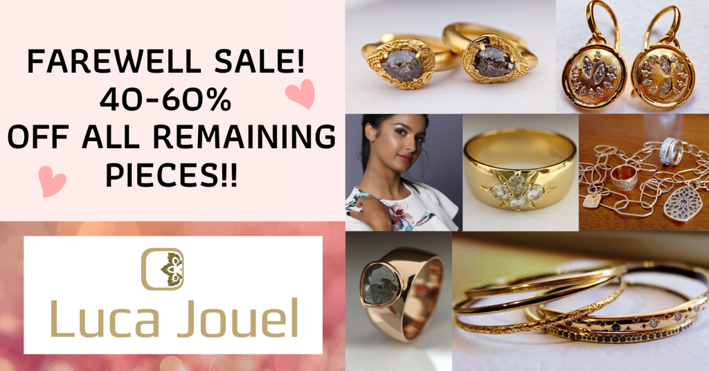 Luca Jouel Closing down sale