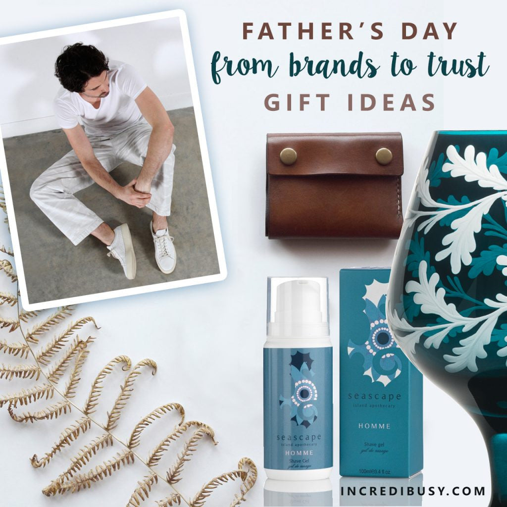 Incredibusy Father's Day gift guide featuring Luca Jouel
