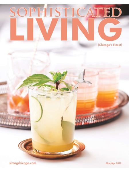 Sophisticated Living Magazine x Luca Jouel