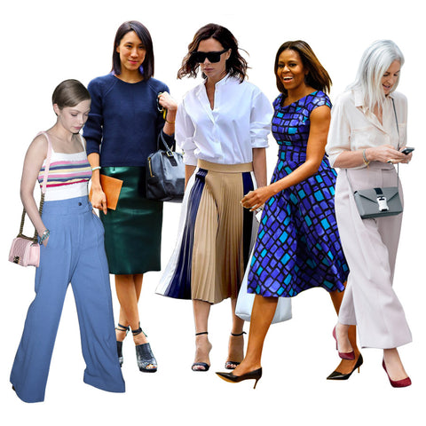 Positive Luxury Blog - Style For All Ages - The Work Wardrobe
