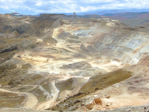 Yanacocha Goldmine (Image courtesy of Wikimedia)