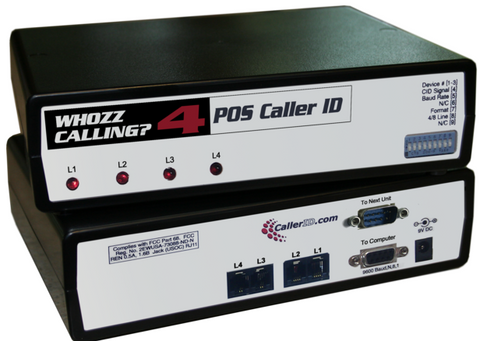 4 Way Caller ID for POS Applications Whoozz Calling