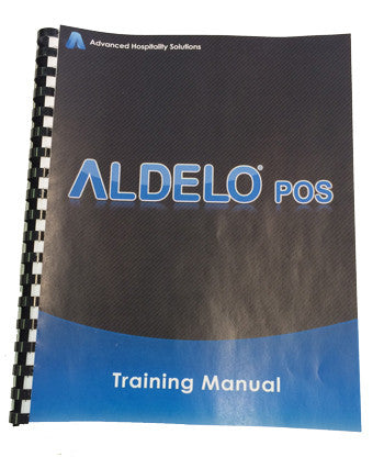 Aldelo Training Manual Printed